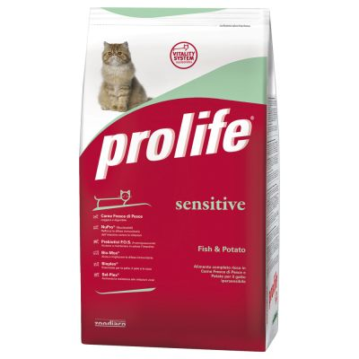 Prolife Sensitive crocchette Pesce e Patate 400g