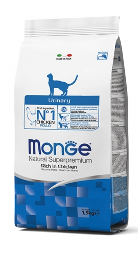 Monge Natural Superpremium Urinary per Gatto al Pollo  400g